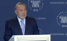 Speech of the President of the Republic of Kazakhstan N.A.Nazarbayev at XI Eurasian Media Forum