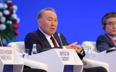 "Participation in ""New Energy, New Economy"" Astana Economic Forum's plenary session"