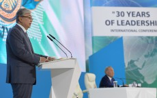 Kassym-Jomart Tokayev takes part in 30 Years of Leadership International Conference