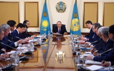 Meeting with akims of regions and cities of Astana, Almaty and Shymkent