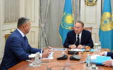 Meeting with  Azat Peruashev, Majilis deputy, Ak Zhol faction leader