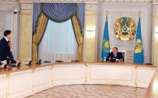 Meeting with the Presidential Administration's executive staff