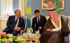 The meeting with the King of Saudi Arabia Salman bin Abdulaziz Al Saud