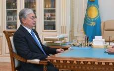 Kassym-Jomart Tokayev receives Governor of the National Bank Erbolat Dossaev