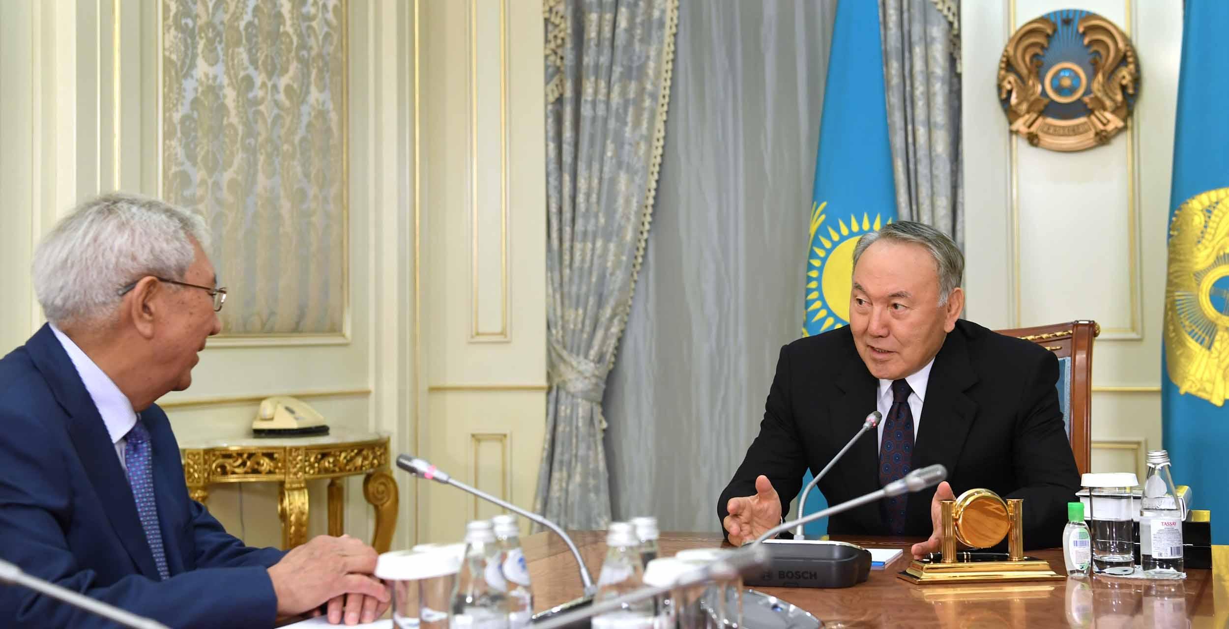 Назарбаев поздравления 2017